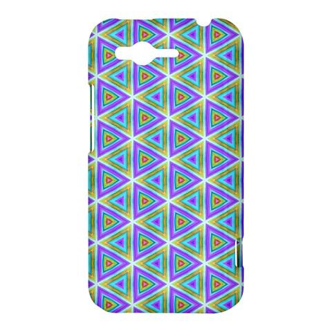 Colorful Retro Geometric Pattern HTC Rhyme