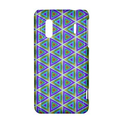 Colorful Retro Geometric Pattern HTC Evo Design 4G/ Hero S Hardshell Case