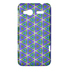 Colorful Retro Geometric Pattern HTC Radar Hardshell Case