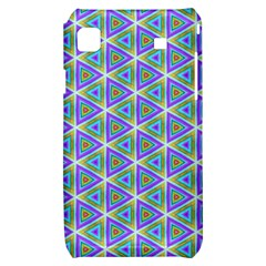 Colorful Retro Geometric Pattern Samsung Galaxy S i9000 Hardshell Case