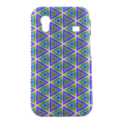 Colorful Retro Geometric Pattern Samsung Galaxy Ace S5830 Hardshell Case