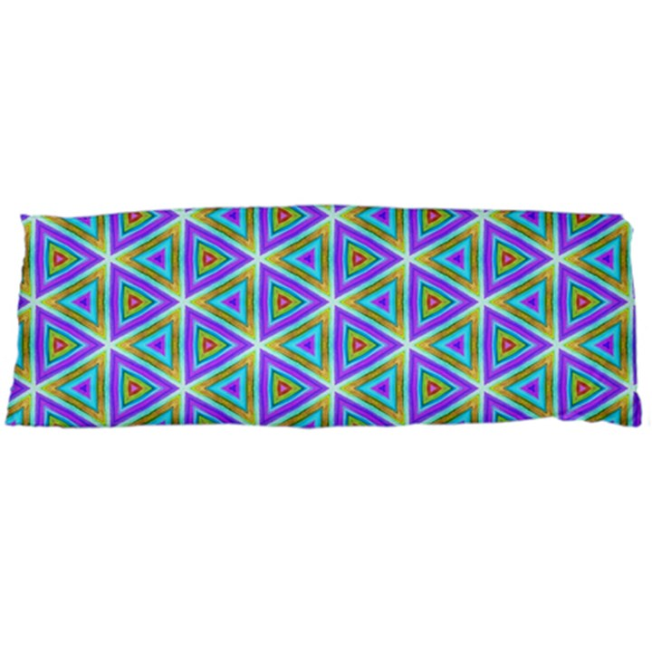 Colorful Retro Geometric Pattern Body Pillow Case Dakimakura (Two Sides)