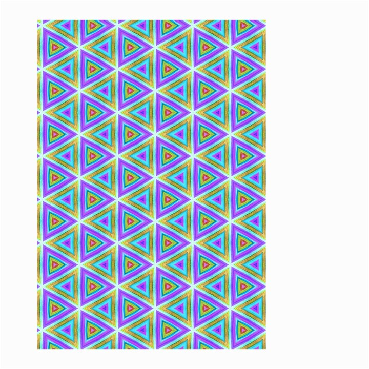 Colorful Retro Geometric Pattern Small Garden Flag (Two Sides)