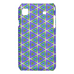 Colorful Retro Geometric Pattern Samsung Galaxy S i9008 Hardshell Case