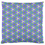 Colorful Retro Geometric Pattern Large Cushion Case (One Side) Front