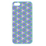 Colorful Retro Geometric Pattern Apple Seamless iPhone 5 Case (Color) Front