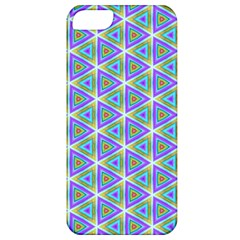 Colorful Retro Geometric Pattern Apple iPhone 5 Classic Hardshell Case