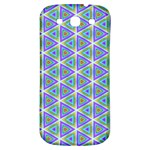 Colorful Retro Geometric Pattern Samsung Galaxy S3 S III Classic Hardshell Back Case Front