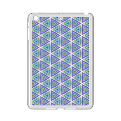 Colorful Retro Geometric Pattern iPad Mini 2 Enamel Coated Cases