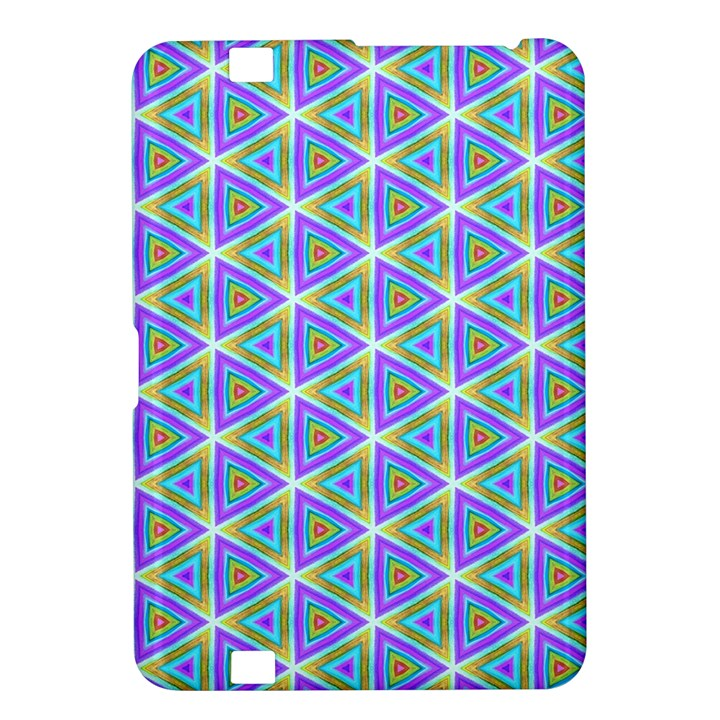 Colorful Retro Geometric Pattern Kindle Fire HD 8.9