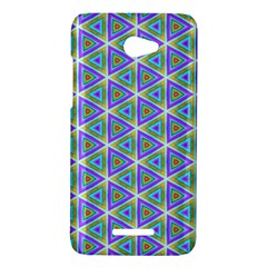 Colorful Retro Geometric Pattern HTC Butterfly X920E Hardshell Case