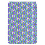 Colorful Retro Geometric Pattern Flap Covers (L)  Front