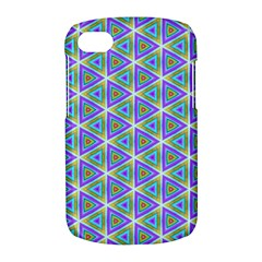 Colorful Retro Geometric Pattern BlackBerry Q10