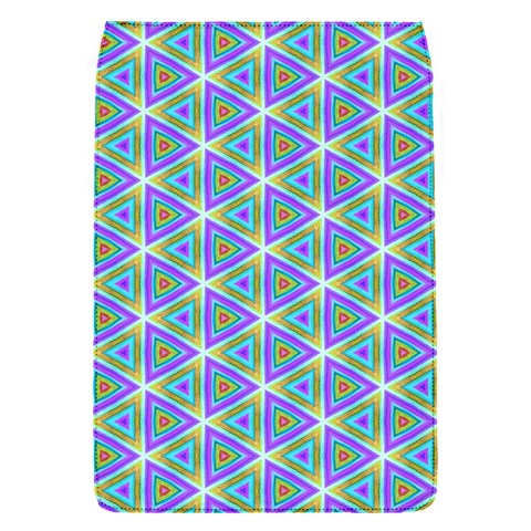 Colorful Retro Geometric Pattern Flap Covers (S)