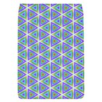 Colorful Retro Geometric Pattern Flap Covers (S)  Front