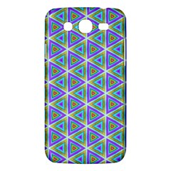 Colorful Retro Geometric Pattern Samsung Galaxy Mega 5 8 I9152 Hardshell Case