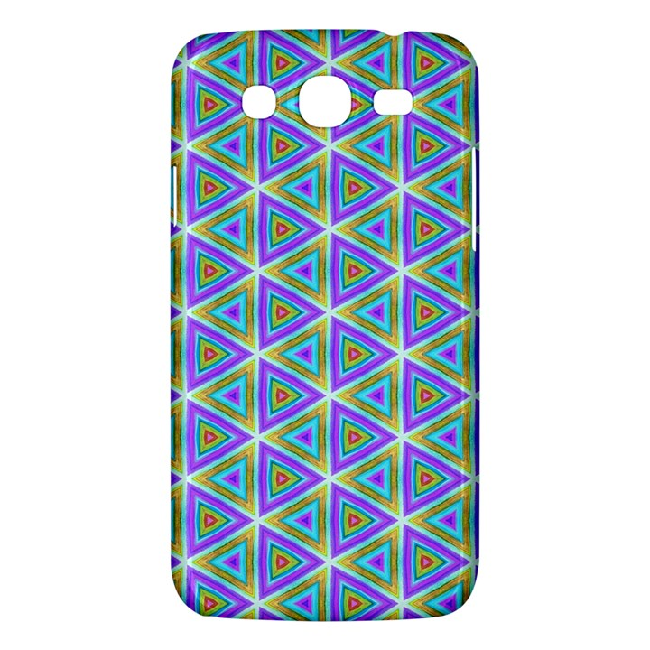 Colorful Retro Geometric Pattern Samsung Galaxy Mega 5.8 I9152 Hardshell Case