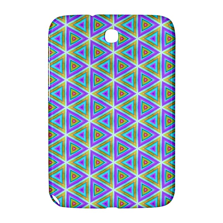 Colorful Retro Geometric Pattern Samsung Galaxy Note 8.0 N5100 Hardshell Case