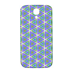 Colorful Retro Geometric Pattern Samsung Galaxy S4 I9500/i9505  Hardshell Back Case