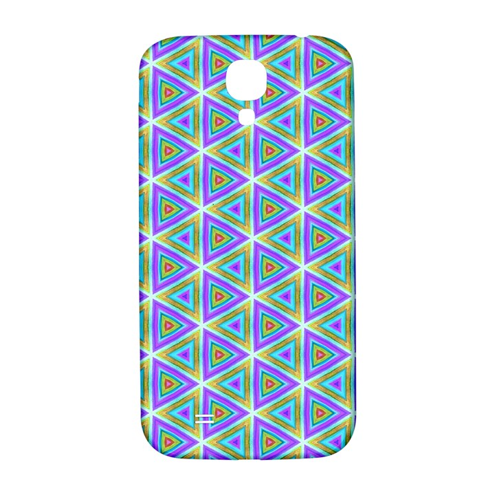 Colorful Retro Geometric Pattern Samsung Galaxy S4 I9500/I9505  Hardshell Back Case