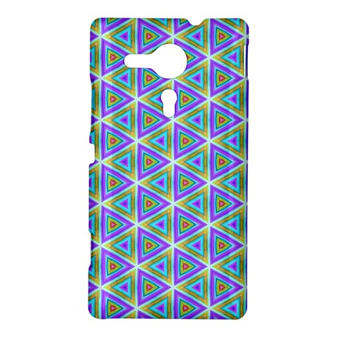 Colorful Retro Geometric Pattern Sony Xperia SP