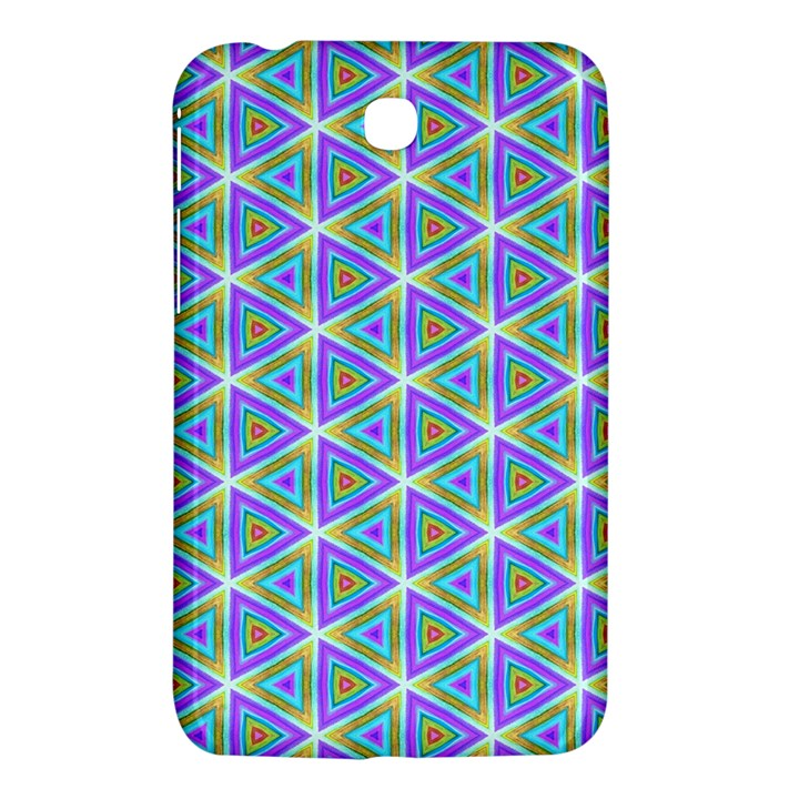 Colorful Retro Geometric Pattern Samsung Galaxy Tab 3 (7 ) P3200 Hardshell Case
