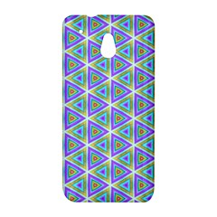 Colorful Retro Geometric Pattern HTC One Mini (601e) M4 Hardshell Case