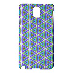 Colorful Retro Geometric Pattern Samsung Galaxy Note 3 N9005 Hardshell Case
