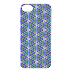 Colorful Retro Geometric Pattern Apple Iphone 5s/ Se Hardshell Case