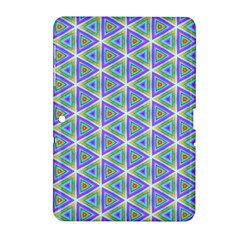 Colorful Retro Geometric Pattern Samsung Galaxy Tab 2 (10.1 ) P5100 Hardshell Case