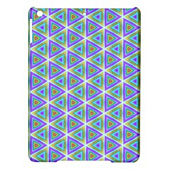 Colorful Retro Geometric Pattern iPad Air Hardshell Cases