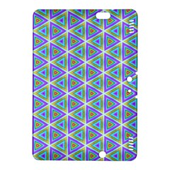 Colorful Retro Geometric Pattern Kindle Fire Hdx 8 9  Hardshell Case