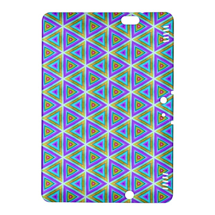 Colorful Retro Geometric Pattern Kindle Fire HDX 8.9  Hardshell Case