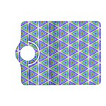 Colorful Retro Geometric Pattern Kindle Fire HD (2013) Flip 360 Case Front