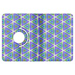 Colorful Retro Geometric Pattern Kindle Fire HDX Flip 360 Case Front