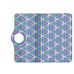 Colorful Retro Geometric Pattern Kindle Fire HDX 8.9  Flip 360 Case Front