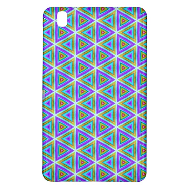 Colorful Retro Geometric Pattern Samsung Galaxy Tab Pro 8.4 Hardshell Case