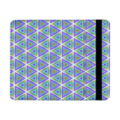 Colorful Retro Geometric Pattern Samsung Galaxy Tab Pro 8 4  Flip Case