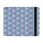 Colorful Retro Geometric Pattern Samsung Galaxy Tab Pro 8.4  Flip Case Front