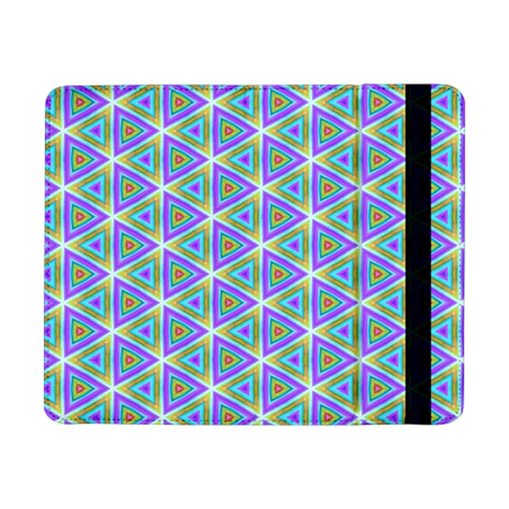 Colorful Retro Geometric Pattern Samsung Galaxy Tab Pro 8.4  Flip Case