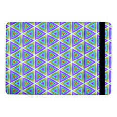 Colorful Retro Geometric Pattern Samsung Galaxy Tab Pro 10.1  Flip Case