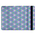 Colorful Retro Geometric Pattern Samsung Galaxy Tab Pro 12.2  Flip Case Front