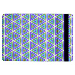 Colorful Retro Geometric Pattern iPad Air Flip
