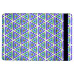 Colorful Retro Geometric Pattern iPad Air 2 Flip