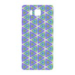 Colorful Retro Geometric Pattern Samsung Galaxy Alpha Hardshell Back Case Front