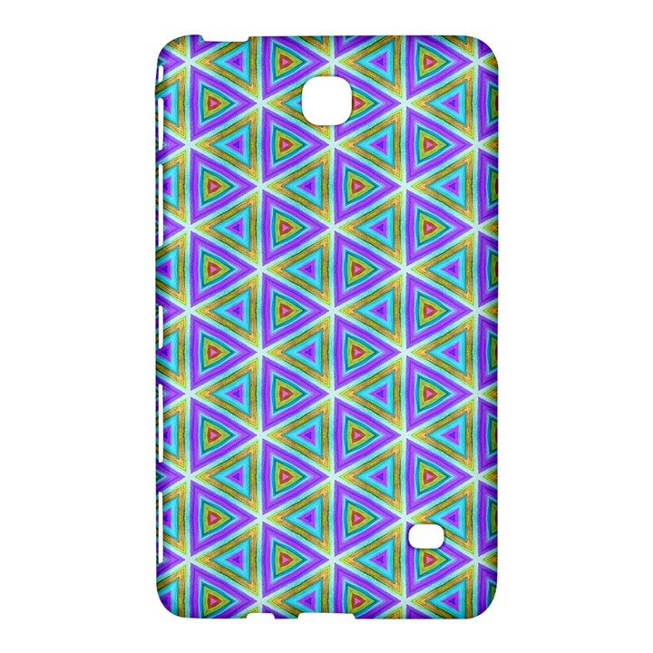 Colorful Retro Geometric Pattern Samsung Galaxy Tab 4 (8 ) Hardshell Case