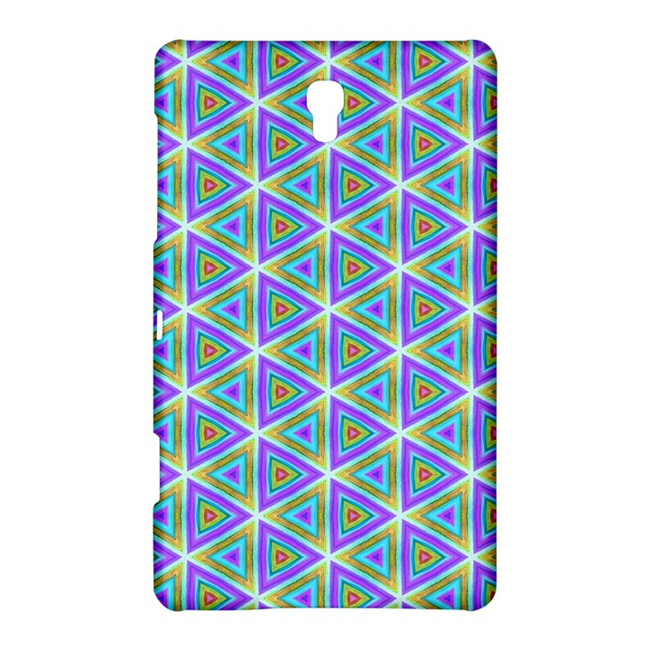 Colorful Retro Geometric Pattern Samsung Galaxy Tab S (8.4 ) Hardshell Case