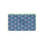 Colorful Retro Geometric Pattern Cosmetic Bag (XS) Front