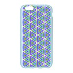 Colorful Retro Geometric Pattern Apple Seamless iPhone 6/6S Case (Color) Front
