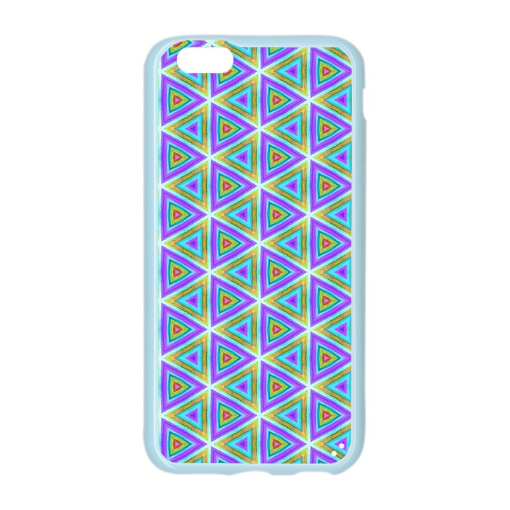 Colorful Retro Geometric Pattern Apple Seamless iPhone 6/6S Case (Color)